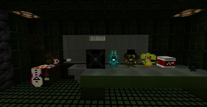 Five nights at freddys 3 map 18 minecraft project the office gumiabroncs Choice Image