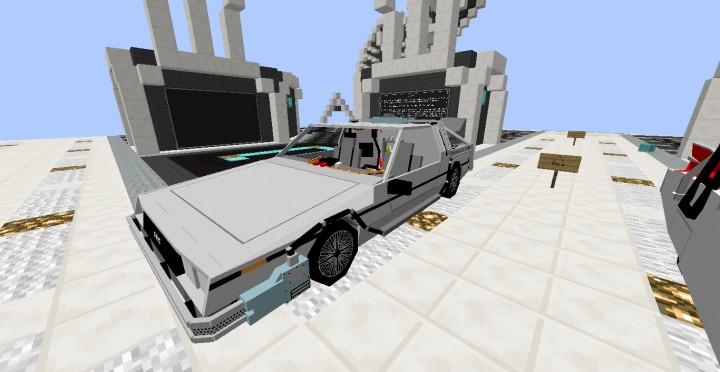 Iconic Movie Vehicles Mod