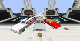 Iconic Movie Vehicles [Back to The Future][Ghostbusters] Minecraft
