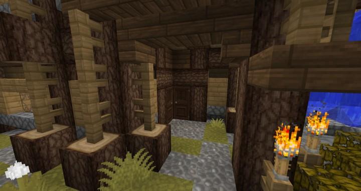 Dark Oak Door - Update 0.9.5