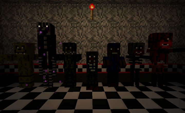Five Nights At Freddy S 3 The Texture Pack Minecraft