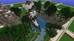 Project Cliffhanger Build by hand. Minecraft Map & Project