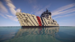 US. Forge | NTC US. Coast Guard Ship Minecraft Map & Project