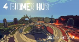 Four Biomes || Server Hub || Download Now Available! Minecraft Map & Project