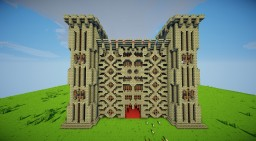 Box Castle Minecraft Map & Project