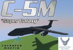"Lockheed C-5M ""Super Galaxy"" Minecraft Map & Project"