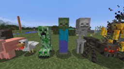 Morph into creatures in only one command! Minecraft Map & Project