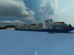 Containership HNMLS Dr. Nassau Minecraft Map & Project