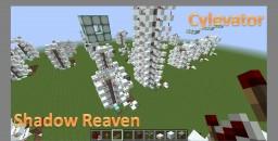Single Column Piston Elevator - Cylevator 1.8.3 Minecraft Map & Project