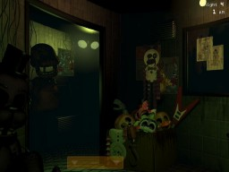 FNaF 3 - Easter Egg, Paper Plate doll - Golden Freddy? Minecraft Blog
