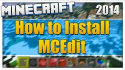 How to Install MCEdit Minecraft