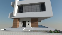 Free - Modern Minimalist House - 2/2 Wok Application Minecraft Map & Project