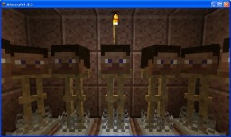 Mannequin Room Minecraft Map & Project