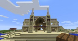 Middle East Inspired Temple Build Minecraft Map & Project