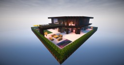Modern living - modern house - Map #01 Minecraft Project