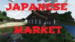 Japanese Market Minecraft Map & Project