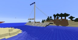 Sailing Boat Minecraft Map & Project