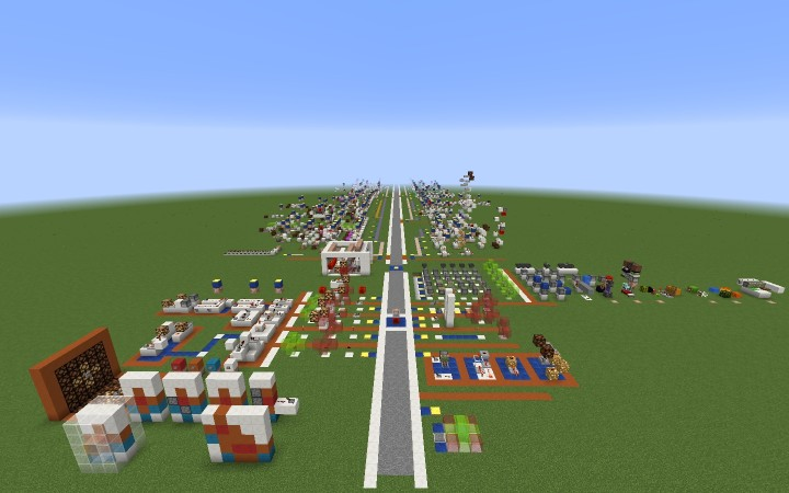 Redstone Circuit Minecraft Project