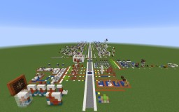 Redstone Circuit Minecraft Map & Project