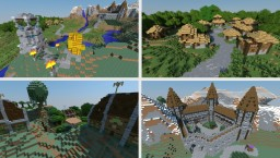 Medival-Fantasy Villages And Castle | Land Of May [DOWNLOAD] Minecraft Map & Project