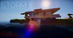 STORM II - Modern Sea House Minecraft Map & Project