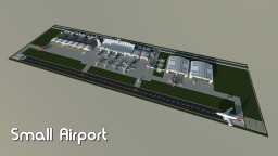 Small airport Minecraft Map & Project