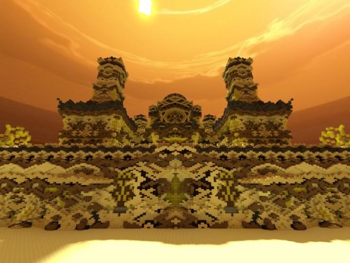 [Карта] The Temple of Xaios - необычный замок
