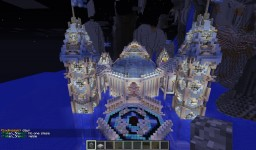 Ice castle Minecraft Project