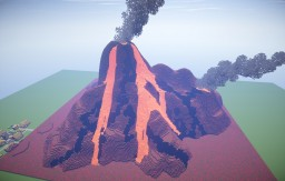 Nether Volcano Minecraft Map & Project