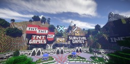 ★ Amazing Hub Server Spawn ★ ✔ Download ✔ Portals ✔ Well-Constructed ✔ Pixelarts ✔ Minigames ✔ Minecraft Map & Project