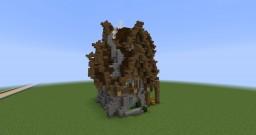 Fantasy/Medieval house Minecraft