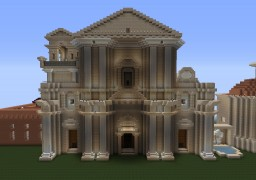 second try of making a beautiful church Minecraft Map & Project