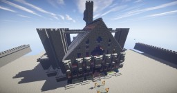 Unfinished Castle/Manor In My Singleplayer Minecraft Map & Project