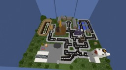 railroad town Minecraft Map & Project