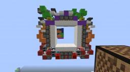 5x5 funnel door Minecraft Map & Project