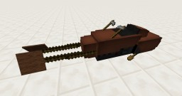 Working Star Wars Speederbike [Vanilla] [1.8] Minecraft Project