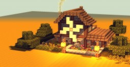 small medieval house Minecraft Project