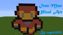 Iron Man Pixel Art 16-Bit [Sphax][1.8]