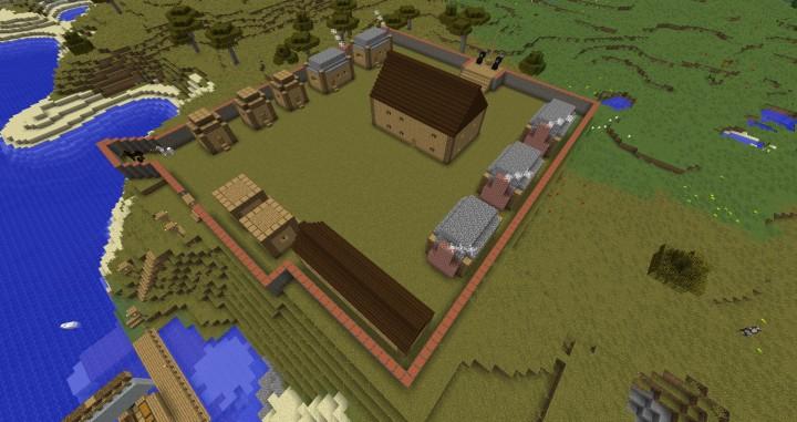 Jamestown Colony Minecraft Project