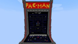 Pacman in Vanilla w/ Full Ghost AI, Sounds, Animations, and more! Minecraft