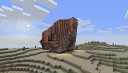 Star Wars Sandcrawler Minecraft Map & Project
