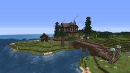 Tudor House Minecraft Map & Project