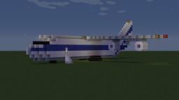 Antonov AN124 Ruslan Minecraft Map & Project