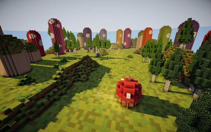 The mushroom fields