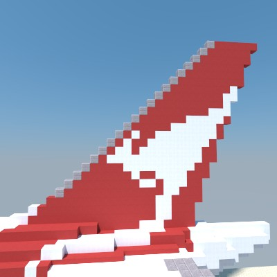 Vertical Stabilizer Chunky Render