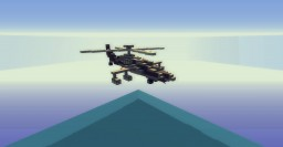 AH 64 Apache Helicopter - By SupahCas Minecraft Map & Project