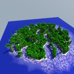 Archanic Island - Terraformed map Minecraft Map & Project