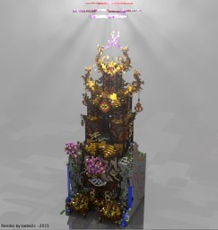 Asian plot by romathletisme on BuildAScarecrow server Minecraft Map & Project