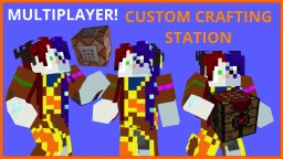 Portable Custom Crafting Station [Commands] (v1.08) Minecraft Map & Project