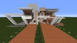 Chaos: A Modern House Minecraft Project